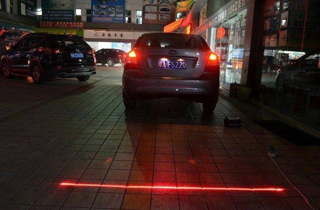 Лазерный стоп сигнал