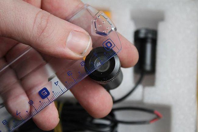 Размер лазерного стоп сигнала