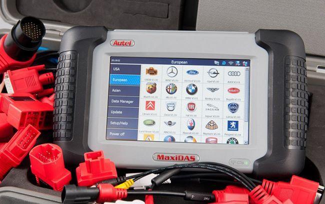 Автосканер Autel MaxiDas DS708