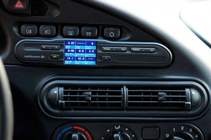 Пример бортового компьютера предназначенного для установки только на автомобиль «Шевроле-Нива»