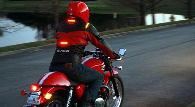 Поворотники на мотоцикле