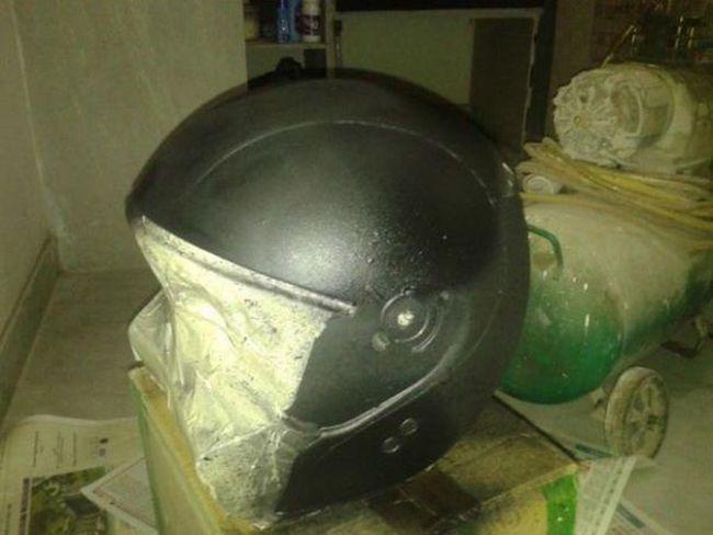 Защита шлема