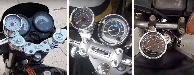 Универсальный тахометр для мотоцикла