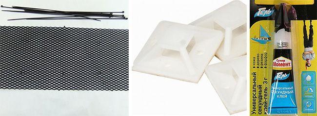 Сетка для защиты радиатора