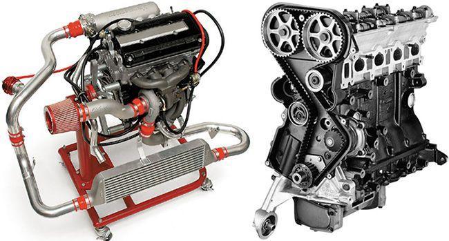 Турбированный и атмосферный моторы