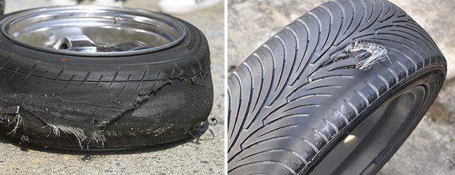 Разорванные шины