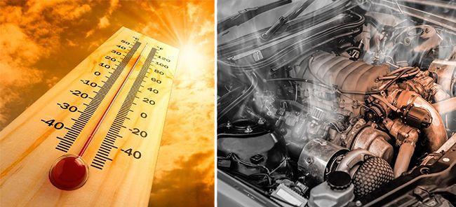 Как быстро охладить двигатель машины