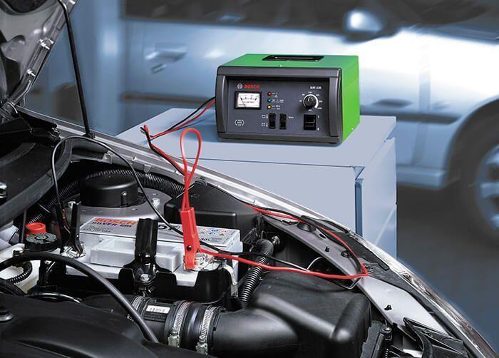 Пример зарядного устройства для автомобильного аккумулятора