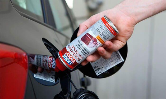 Чистка топливной системы автомобиля присадками