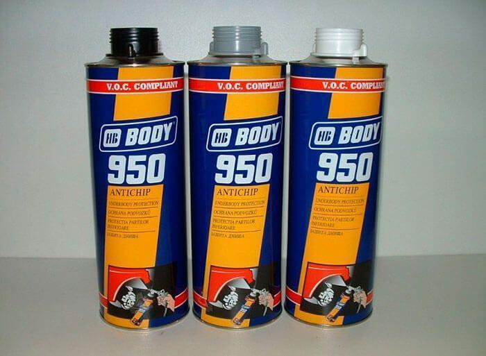 68 body - Чем можно обработать днище машины