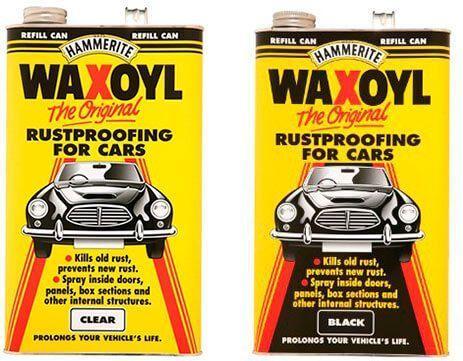 68 waxoyl - Чем можно обработать днище машины