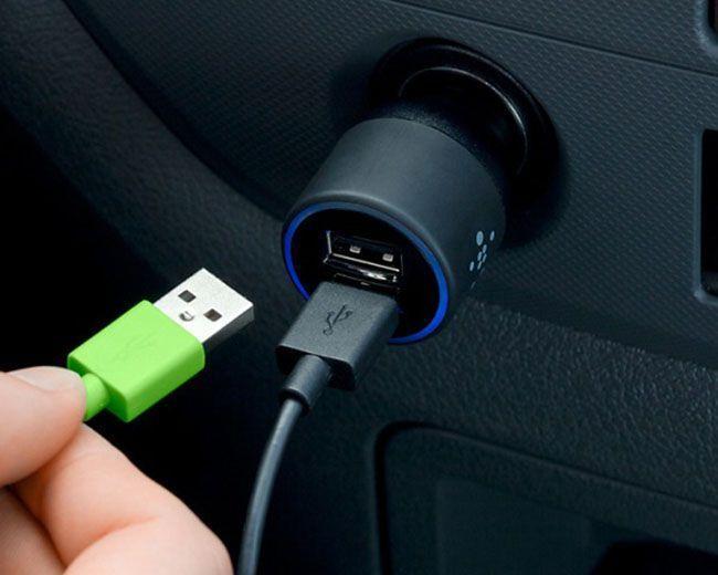 USB-устройство для зарядки телефона в машине