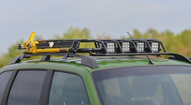 Стандартный экспедиционный багажник для Нивы Шевроле