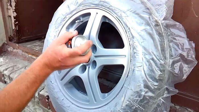Как и чем покрасить самому авто диски